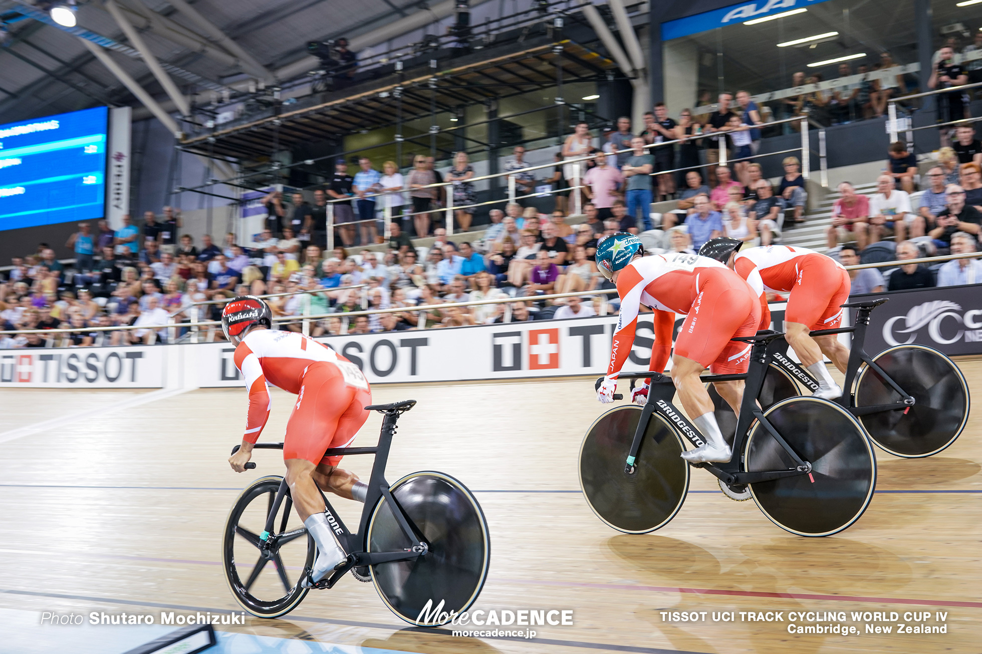 Final / Men's Team Sprint / TISSOT UCI TRACK CYCLING WORLD CUP IV, Cambridge, New Zealand, 深谷知広 新田祐大 雨谷一樹