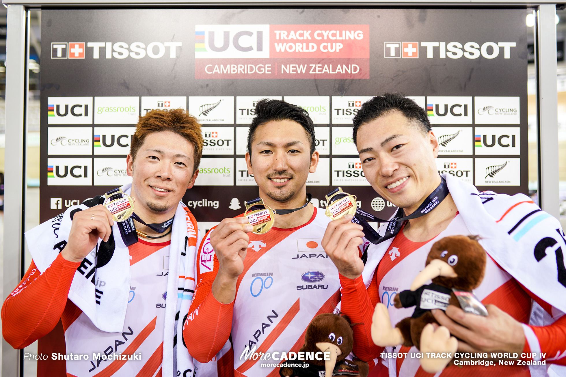 Men's Team Sprint / TISSOT UCI TRACK CYCLING WORLD CUP IV, Cambridge, New Zealand, 深谷知広 新田祐大 雨谷一樹