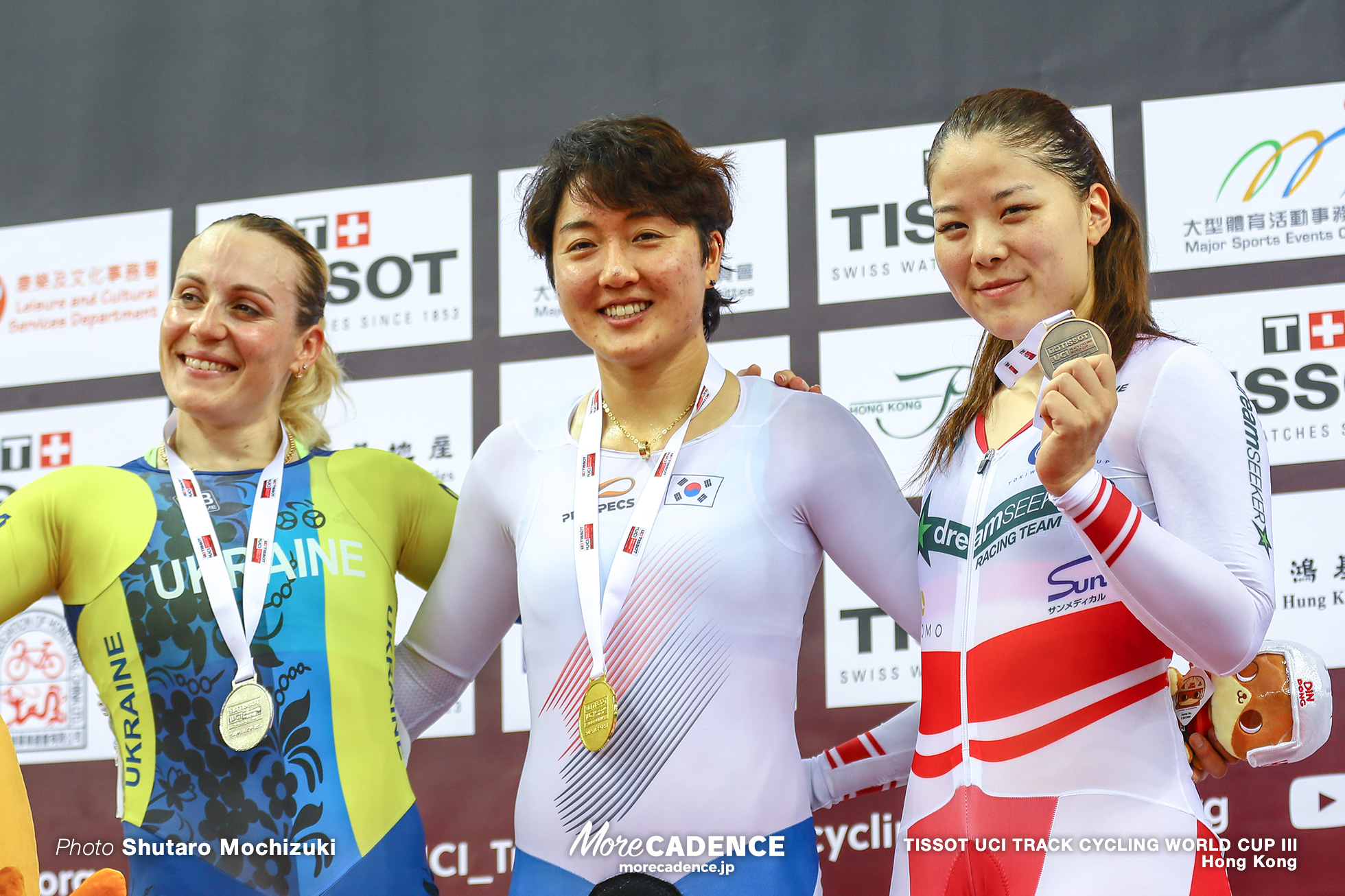 Women's Keirin / TISSOT UCI TRACK CYCLING WORLD CUP III, Hong Kong, LEE Hyejin イ・ヘジン Liubov BASOVA リウボヴ・バソワ 小林優香