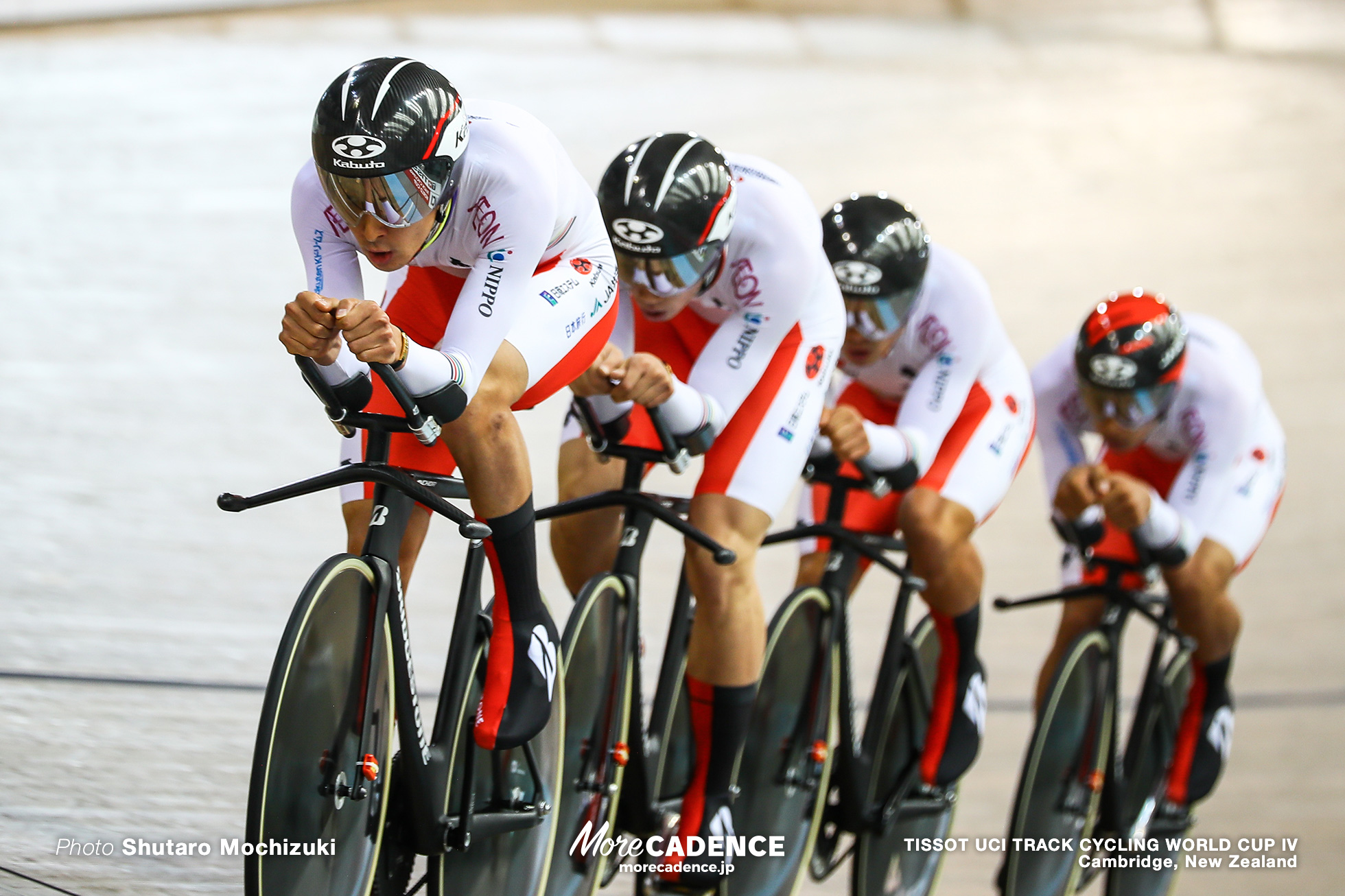 Men's Team Pursuit / TISSOT UCI TRACK CYCLING WORLD CUP IV, Cambridge, New Zealand, 近谷涼 今村駿介 窪木一茂 沢田桂太郎