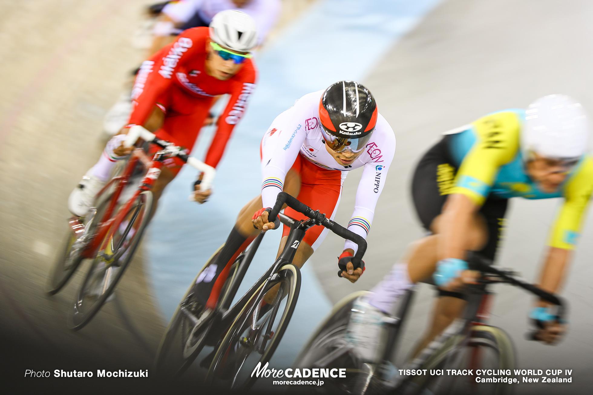 Scratch Race / Men's Omnium / TISSOT UCI TRACK CYCLING WORLD CUP IV, Cambridge, New Zealand, 橋本英也
