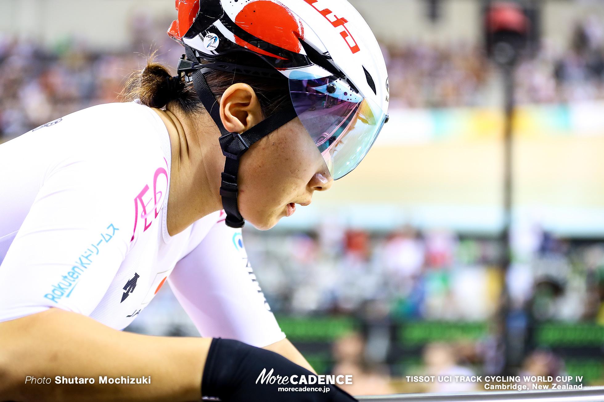 Elimination / Women's Omnium / TISSOT UCI TRACK CYCLING WORLD CUP IV, Cambridge, New Zealand, 梶原悠未