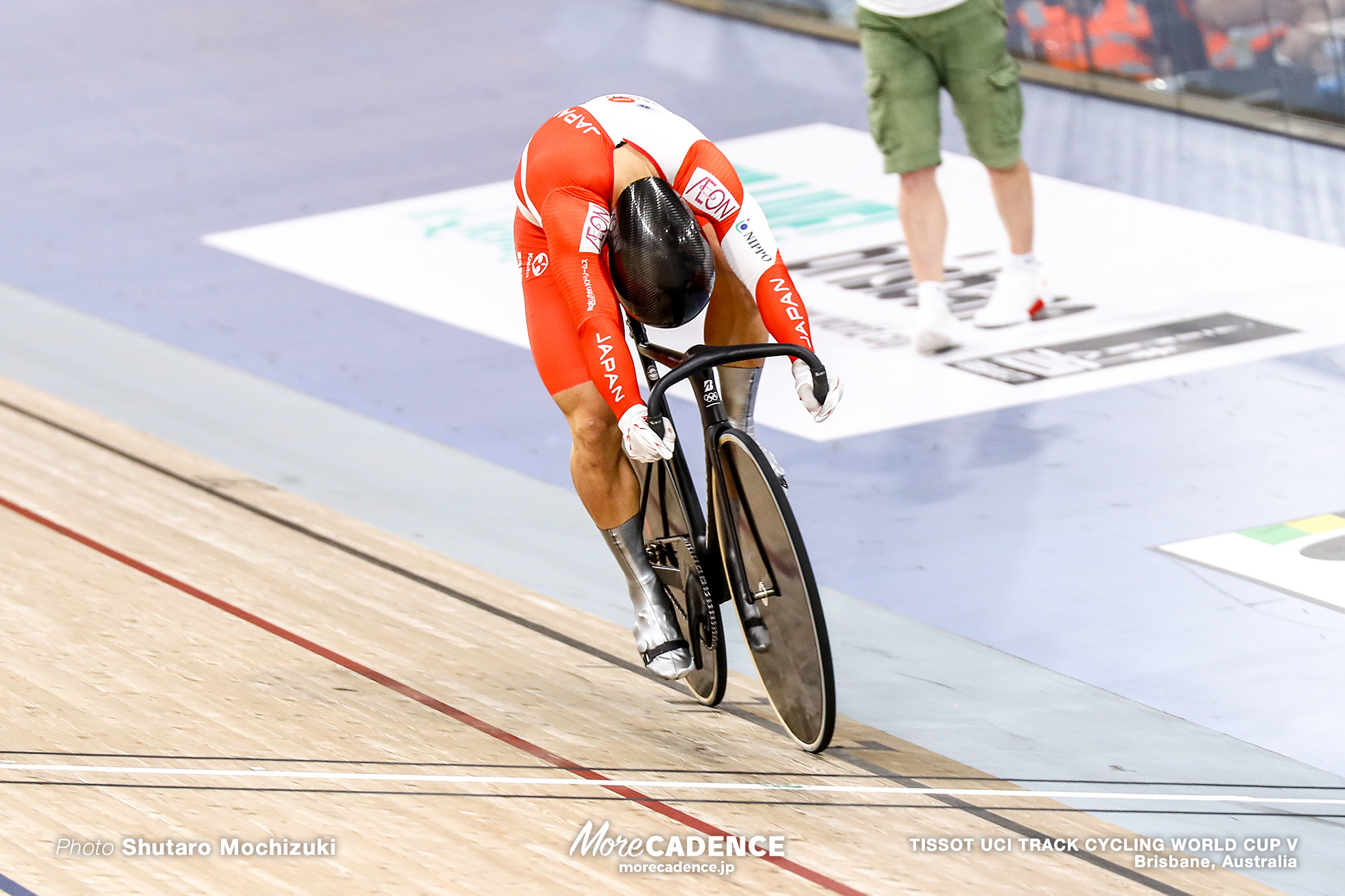 Final / Men's Team Sprint / TISSOT UCI TRACK CYCLING WORLD CUP V, Brisbane, Australia, 深谷知広