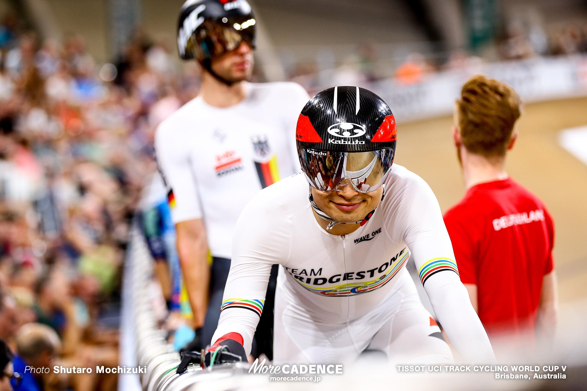 Men's Omnium / Tempo Race / TISSOT UCI TRACK CYCLING WORLD CUP V, Brisbane, Australia, 橋本英也